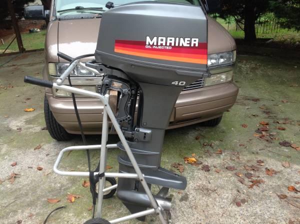 Mariner 40 pk Kortstaart Buitenboordmotor - Parcon Watersport B.V   448x600