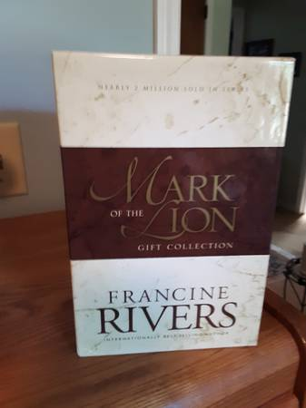 Photo Mark of The Lion 3 Book Set - Francine Rivers - $20 (Duluth)
