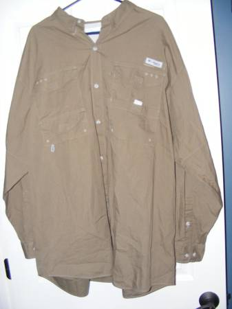 Photo Mens Columbia PFG Shirts XXL long sleeves - $10 (McDonough)