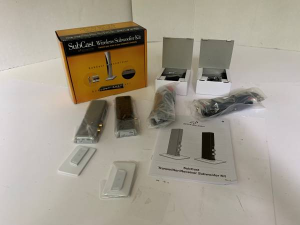 Photo New Soundcast SubCast Wireless Subwoofer Kit SCK510 US - $135 (lawrenceville)