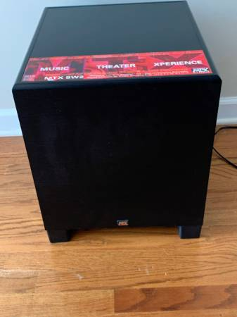 Photo Nice MTX Audio SW2 12quot Powered Subwoofer - $125 (lawrenceville)