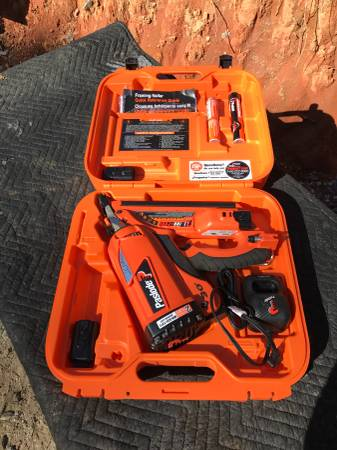 Photo Paslode cordless framing nailer - $240 (Dawsonville)
