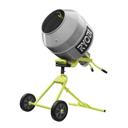 Photo RYOBI 5.0 cu. ft. Portable Concrete Mixer Retracts automatically - $225 (Marietta)