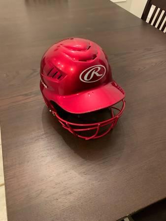 Photo Rawlings kids baseball helmet - $10 (Decatur)