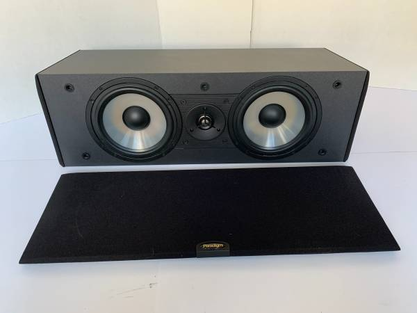 Photo Really Nice Paradigm CC-350 120W Center Channel Speaker - $125 (lawrenceville)
