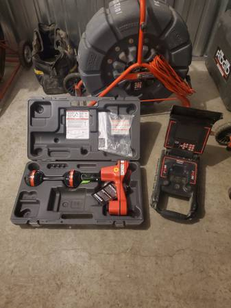 Photo Ridgid see snake sewer camera