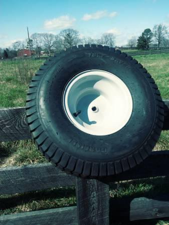 Photo Riding Mower (MTD) Rear Wheel And Tire 20 x 8.00-8 (New) - $40 (Lula,Ga.)