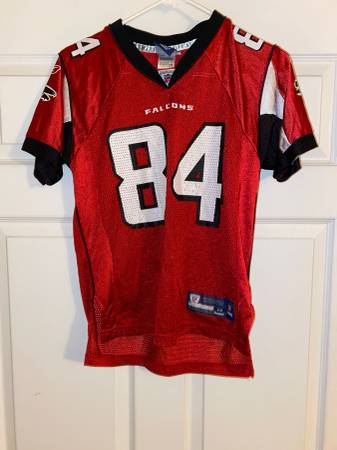 Photo Roddy White, Atlanta Falcons Home Jersey by Reebok, Youth Medium - $20 (East Cobb)