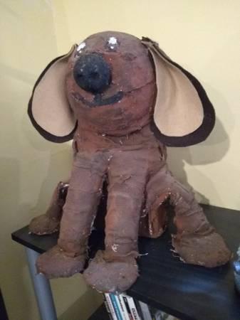 Photo Rowlf the dog paper mache folk art - $20 (lawrenceville)