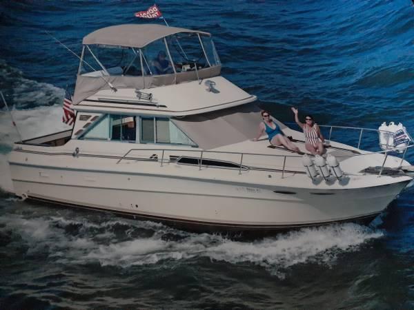 Photo Sea Ray sedan Bridge 340 - $22,000 (Gainesville Georgia)