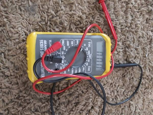 Photo Sears Craftsman Multimeter - $30 (Roswell)