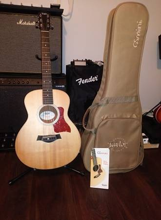 Photo Taylor GS Mini Mahogany ElectricAcoustic - $500 (Athens)