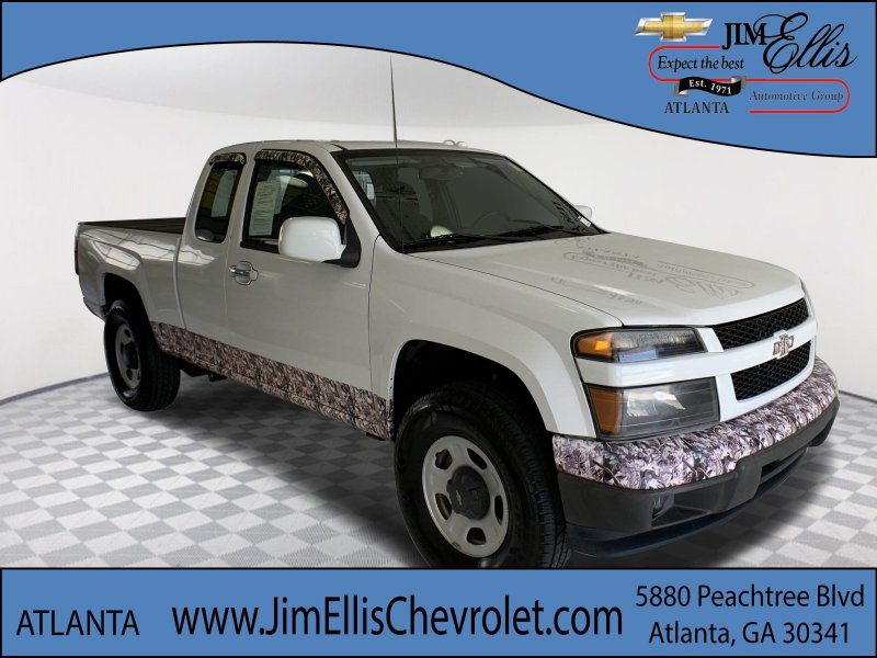 Photo Used 2010 Chevrolet Colorado 4x4 Extended Cab WT for sale