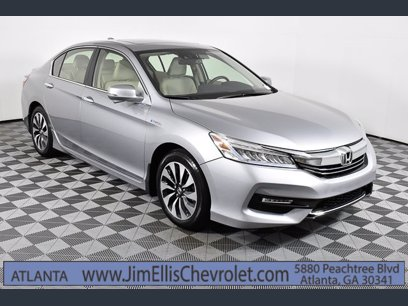 Photo Used 2017 Honda Accord Touring Hybrid Sedan for sale