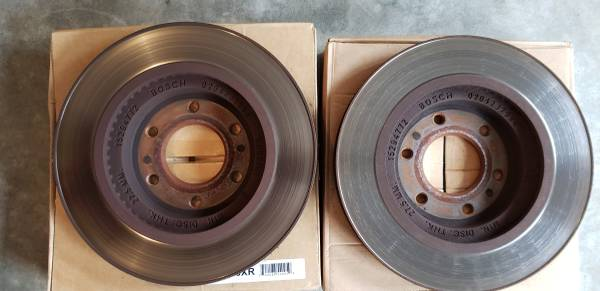Photo Used Trailblazer SS Front Rotors - $10 (Marietta)