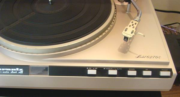 Photo Vintage Marantz 6270Q Turntable - $225 (Acworth)