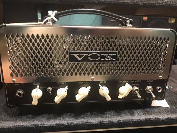 Photo Vox Night Train NT15H 15 watt Guitar Tube Amp Head - $350 (Newnan)
