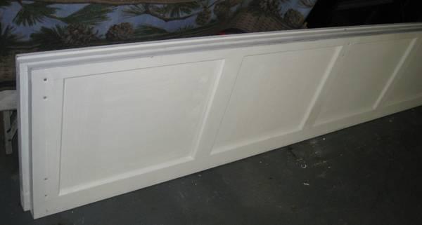 Photo WOOD GARAGE DOOR PANEL - $160 (Acworth)