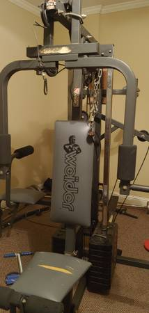 Photo Weider Weight Station Home Gym - $100 (Conyers)