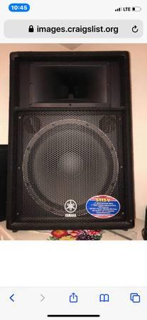Photo Yamaha 1000W SpeakersPair(2)-12-Channel 1000W Powered - $750 (watlanta)
