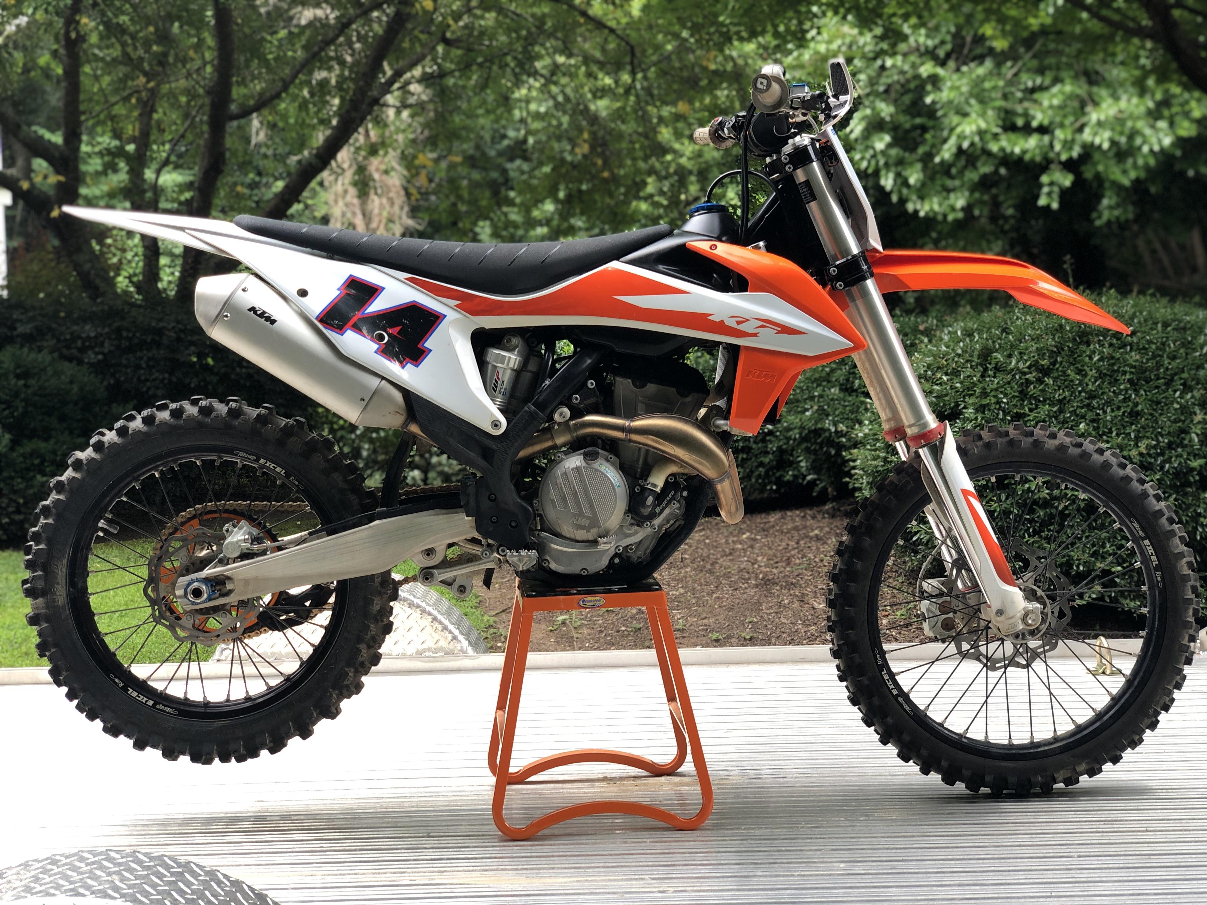 Photo Used 2020 KTM Dirt Bike Motorcycle  $8300