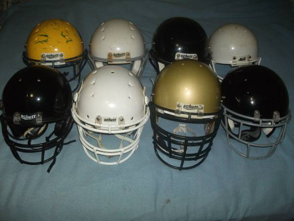 Photo Youth Football Helmets and Shoulder Pads  - $25 (AtlantaAirport)