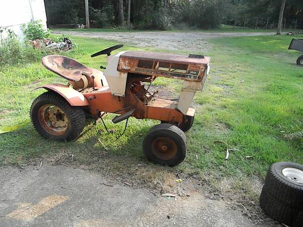 Photo sears garden tractor - $500 (Dallas)
