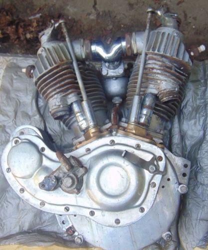 Photo 1928 Harley Davidson JDH Twin Engine