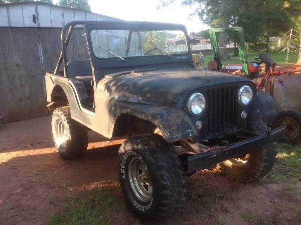 Photo 1956 Willys Jeep - $2,500 (Greenwood,SC)