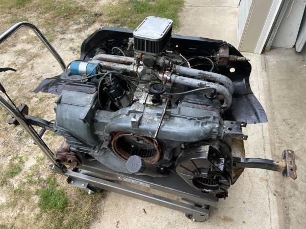 Photo 1974-1983 VW Bus Air-cooled 2.0L 2000cc Engine Motor - $1,500 (North Augusta)