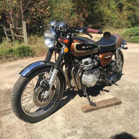 Photo 1976 Honda CB550 Four (OBO) - $2,800 (Bogart, Ga)