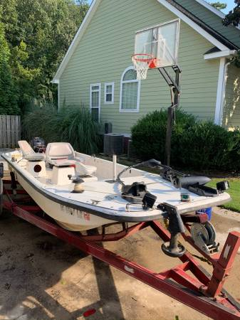 Photo 2004 Carolina skiff J16 - $3,500 (Evans, Ga)
