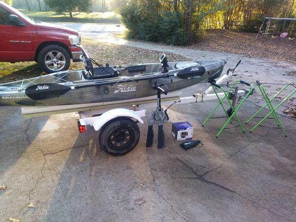 2018 hobie outback camo with com fab trailer 3200 nicholson boats for sale augusta ga shoppok 2018 hobie outback camo with com fab