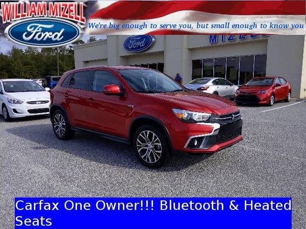 Photo 2018 Mitsubishi Outlander Sport wagon SE 2.4 CVT - Rally Red (Mitsubishi_ Outlander_ Sport_ wagon_)