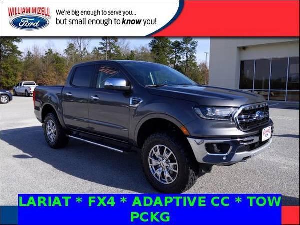 Photo 2019 Ford Ranger truck LARIAT 4WD SuperCrew 539 Box - Magnetic (Ford_ Ranger_ truck_)