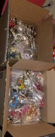 Photo 2 Boxes of Costume Jewelry - $120 (Inman)