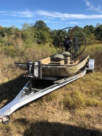 Photo Airboat  trailer - $9000 (Evans, GA)