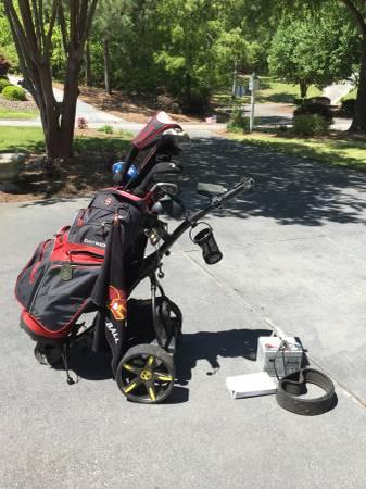 Photo Bat Caddy X-3 Sport Electric Golf Cart - $200 (Aiken)
