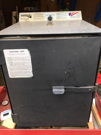 Photo Cookshack BBQ Electric Smoker - $140 (Augusta)