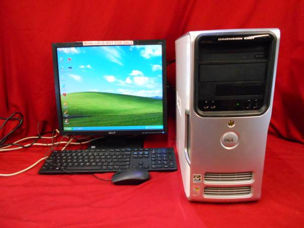 Photo Dell Dimension E521 - Athlon 64 - 1.90 GHz - 4 gb - 250 gbhd - XP Home - $80 (Greenville SC)