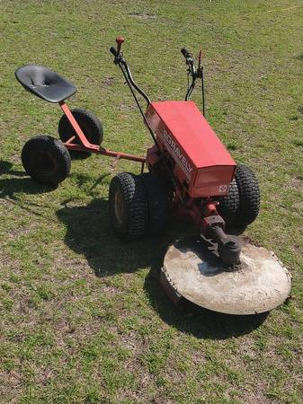 Photo Gravely Professional 12 Walk Ride Behind Tractor - $2500