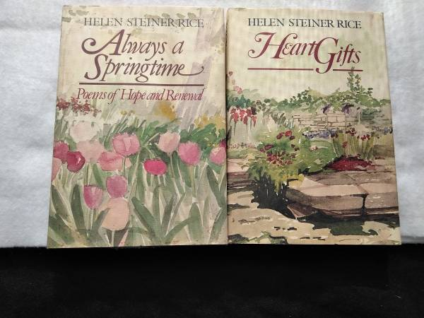 Photo Heart Gifts and Always a Springtime by Helen Steiner Rice - $8 (Augusta)