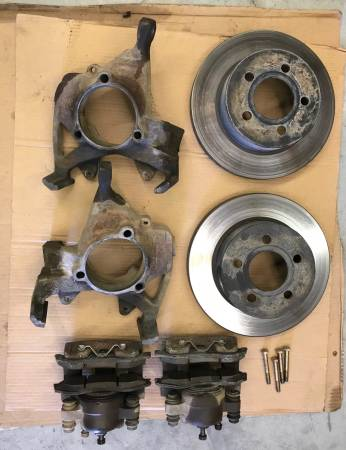 Photo Jeep TJ (2004) Brake parts - $225 (Trenton)