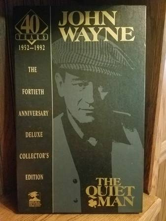 Photo John Wayne The Quiet Man 40th Anniversary Deluxe Collector39s Edition - $16 (Boiling Springs)