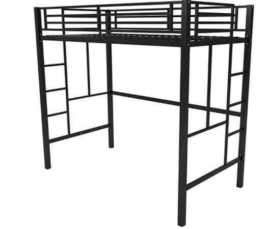 Photo Loft Bed - Twin - $125 (Martinez)