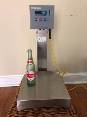 Photo Mettler Toledo Speed Weigh Scale SW150000 - Lab Pharma Food - $400 (Aiken, SC)
