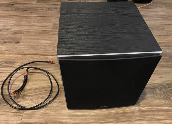 Photo Polk Audio PSW10 (BK) 10quot 50-watt Powered Subwoofer - $70 (North Augusta)