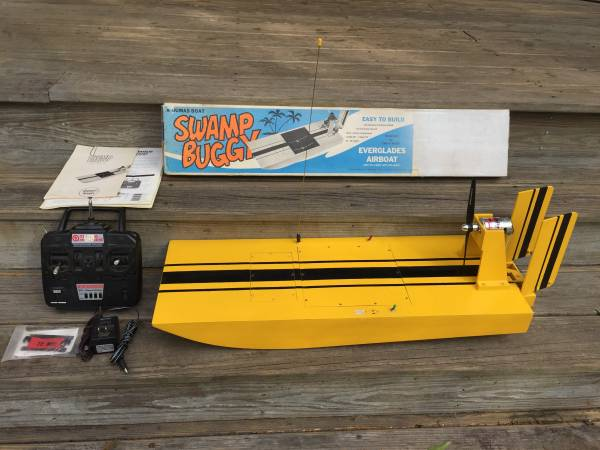 Photo Radio Controlled Model Air Boat - $325 (Edgefield)