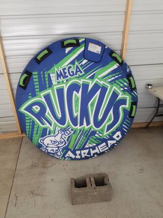 Photo Ruckus towable boat tube - $100 (Martinez)