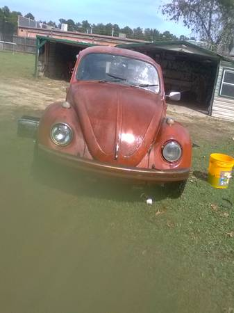 Photo VW BUG 1969 VW BEETLE-BUG - $2,400 (MARTINEZ)